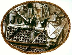 Pablo Picasso - Still life with the caned chair