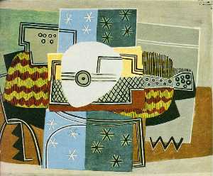 Pablo Picasso - Still life with the mandolin