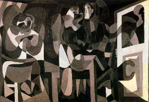 Pablo Picasso - Milliners (Workshop of the milliner)