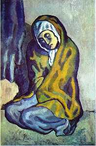 Pablo Picasso - Crouching beggar