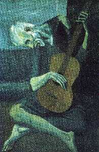 Pablo Picasso - The old blind guitarist