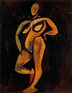 Pablo Picasso - Standing nude