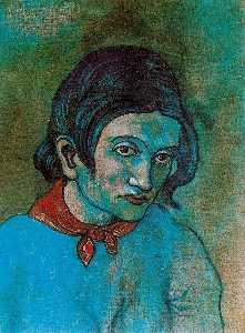Pablo Picasso - Female Head