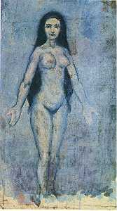 Pablo Picasso - Naked woman with dripping hair