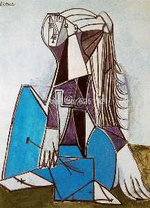Pablo Picasso - Portrait of Sylvette David