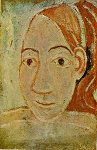 Pablo Picasso - Bust of woman