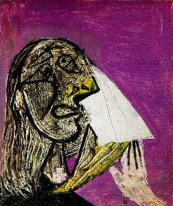 Pablo Picasso - Crying woman