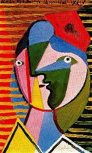 Pablo Picasso - Woman turned right