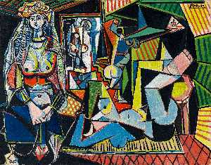 Pablo Picasso - Women of Algiers (Version O)