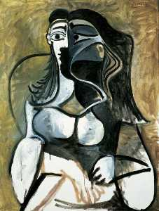 Pablo Picasso - Woman in Armchair