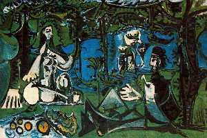 Pablo Picasso - Luncheon on the grass