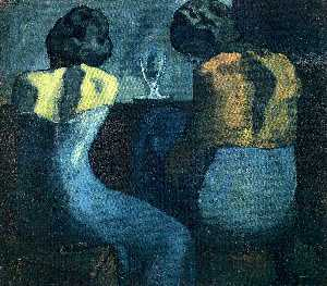 Pablo Picasso - Two women sitting at a bar