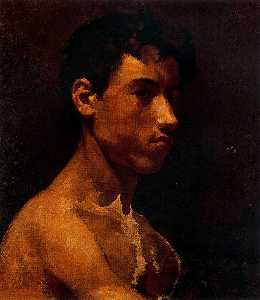 Pablo Picasso - Bust of young man