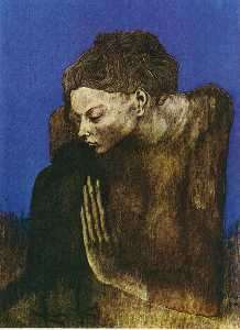 Pablo Picasso - Woman with raven