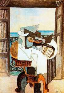 Pablo Picasso - Table in front of window