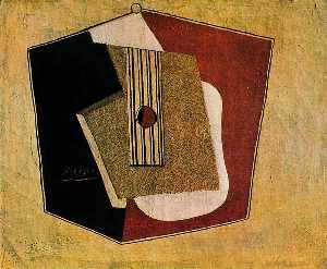 Pablo Picasso - The guitar