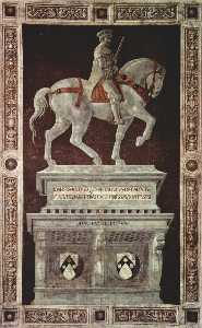 Paolo Uccello - Equestrian Monument of Si..