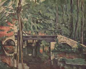 Paul Cezanne - The Bridge at Maincy