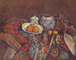 Paul Cezanne - Still Life with Oranges