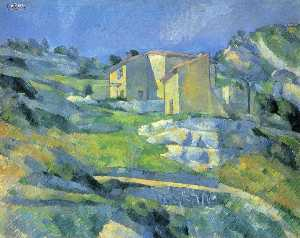 Paul Cezanne - Houses at the L-Estaque