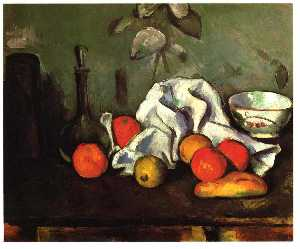 Paul Cezanne - Still life with fruits