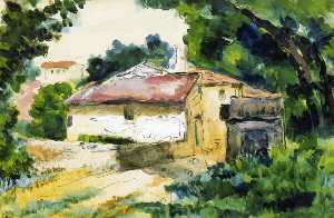 Paul Cezanne - House in Provence