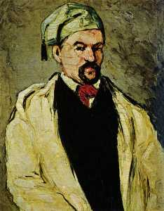 Paul Cezanne - Portrait of a Man in a Blue Cap, or Uncle Dominique