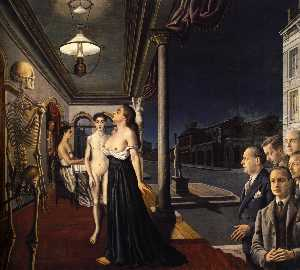 Paul Delvaux - The Musee Spitzner