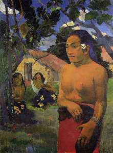 Paul Gauguin - Where are you going-