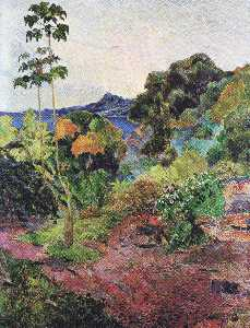 Paul Gauguin - Martinique Landscape