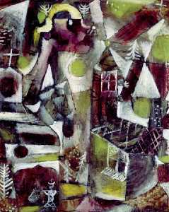 Paul Klee - Swamp legend
