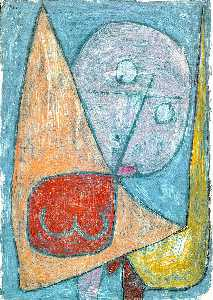 Paul Klee - Angel Still Feminine