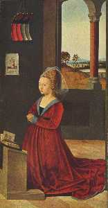 Petrus Christus - Kneeling female donor