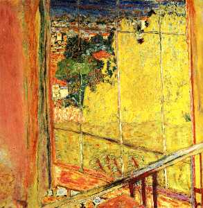 Pierre Bonnard - The workshop with Mimosa