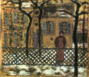 Pierre Bonnard - At the Fence