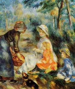 Pierre-Auguste Renoir - The Apple Seller