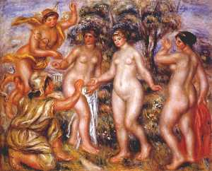 Pierre-Auguste Renoir - The judgment of Paris