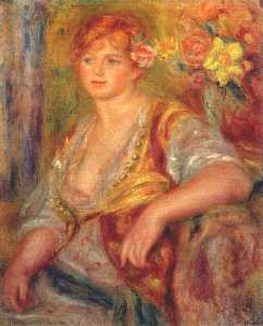 Pierre-Auguste Renoir - Dedee in spanish dress