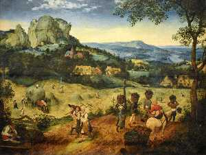 Pieter Bruegel The Elder - Haymaking