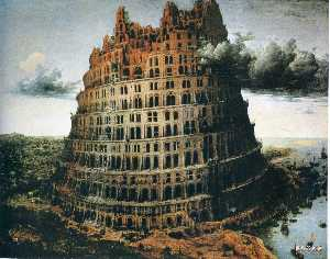 Pieter Bruegel The Elder - The ''Little'' Tower of B..