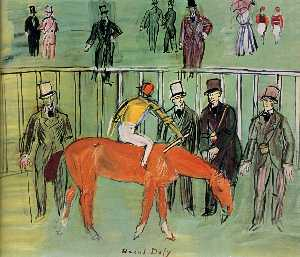 Raoul Dufy - The Thoroughbred