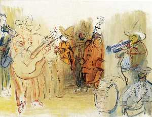Raoul Dufy - The Mexican Orchestra