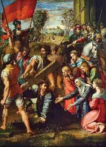 Raphael (Raffaello Sanzio Da Urbino) - The Fall on the Road to Calvary