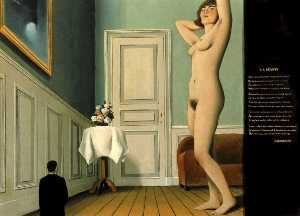 Rene Magritte - The giantess