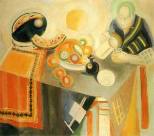 Robert Delaunay - The Bowl