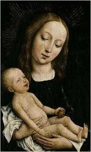Rogier Van Der Weyden - Madonna and Child