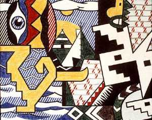 Roy Lichtenstein - Pow Wow