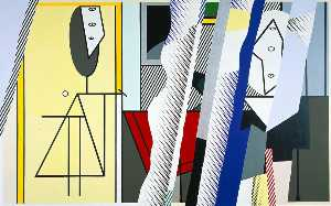 Roy Lichtenstein - Reflections on the artist-s studio