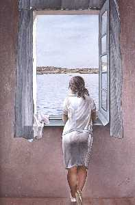 Salvador Dali - Figure at a Window