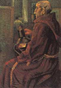 Salvador Dali - Seated Monk